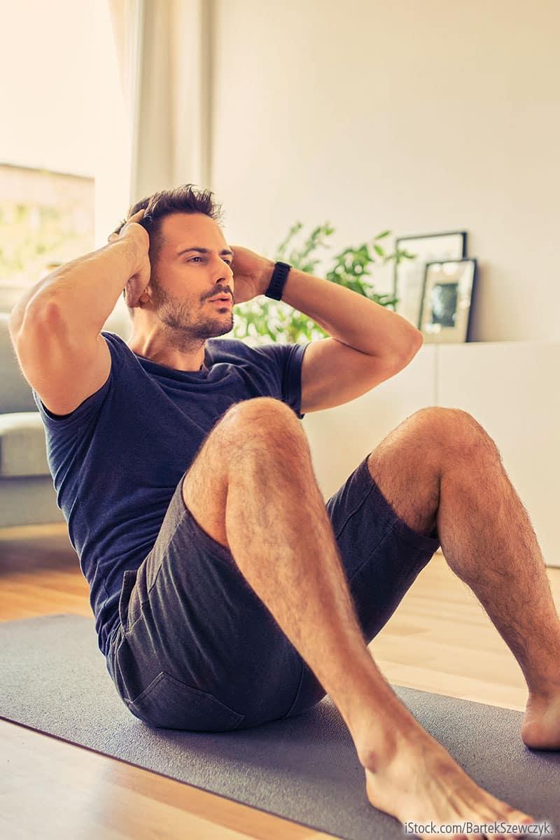 Home Workout: ohne Geräte zuhause trainieren