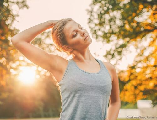 Nackenverspannungen: lösen und vorbeugen