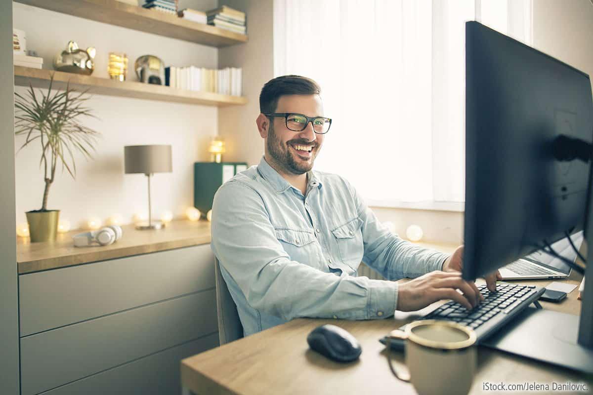 Home Office: Einfache Tipps für gesundes Arbeiten