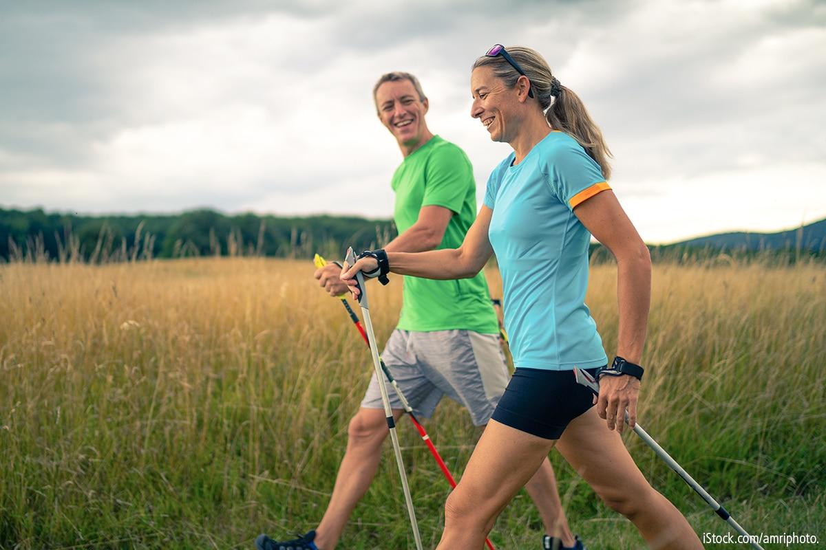 Nordic Walking - Fit und gesund mit 2 Stöcken